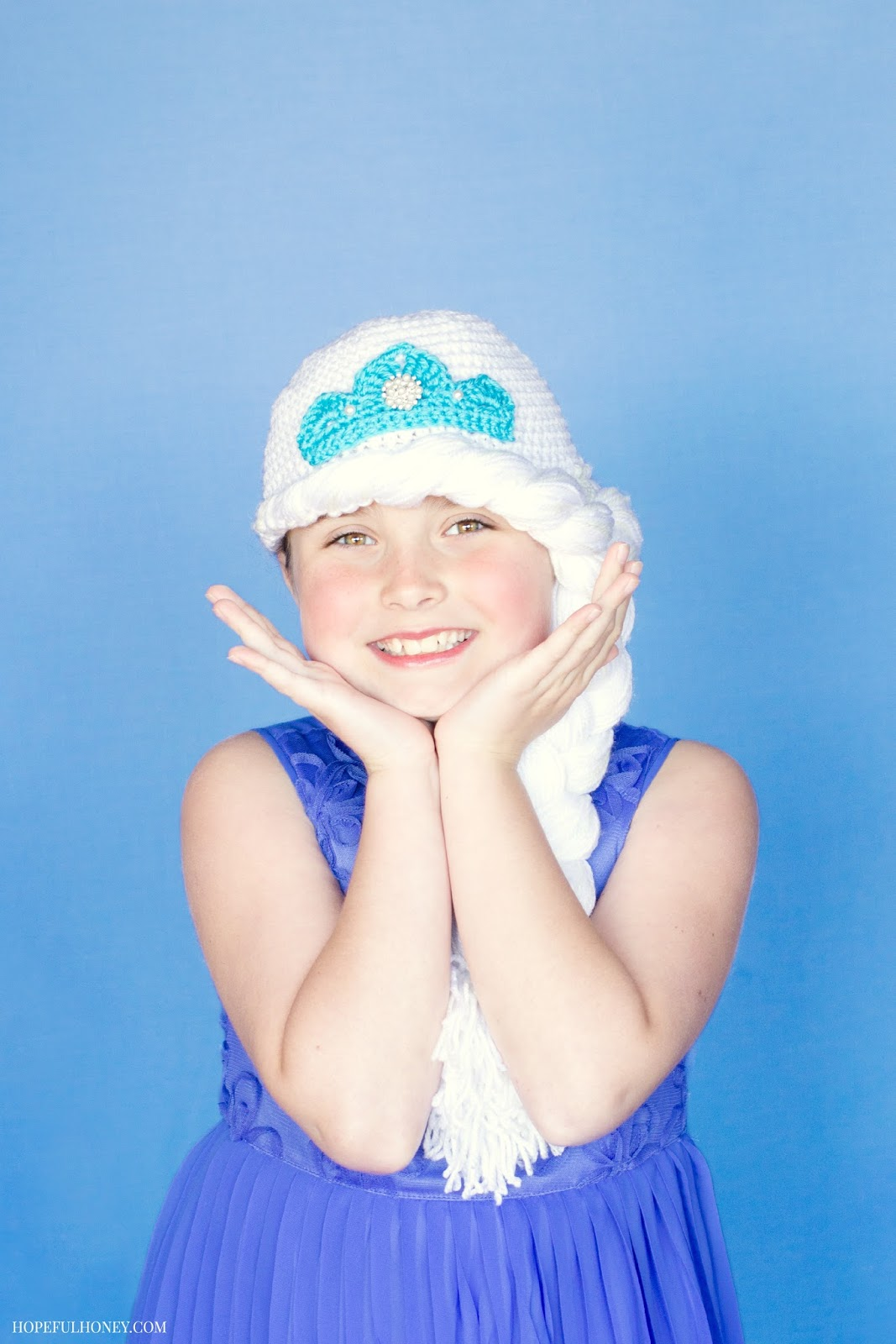 Free Crochet Pattern Frozen Elsa Hat : Frozen Princess Elsa Inspired Hat - Media - Crochet Me