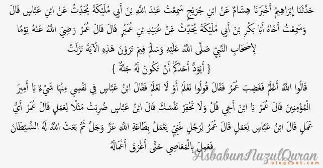 Quran Surat al Baqarah ayat 266