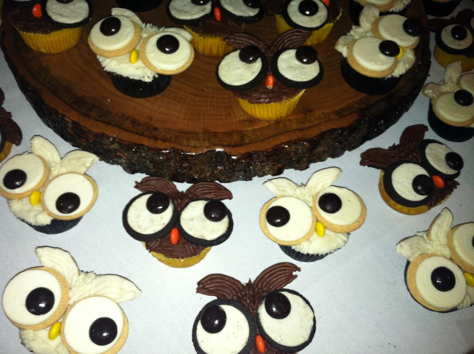 makeBAKEcupcake oreo owl cupcakes