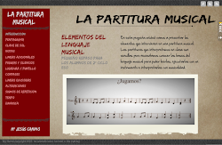 La partitura musical