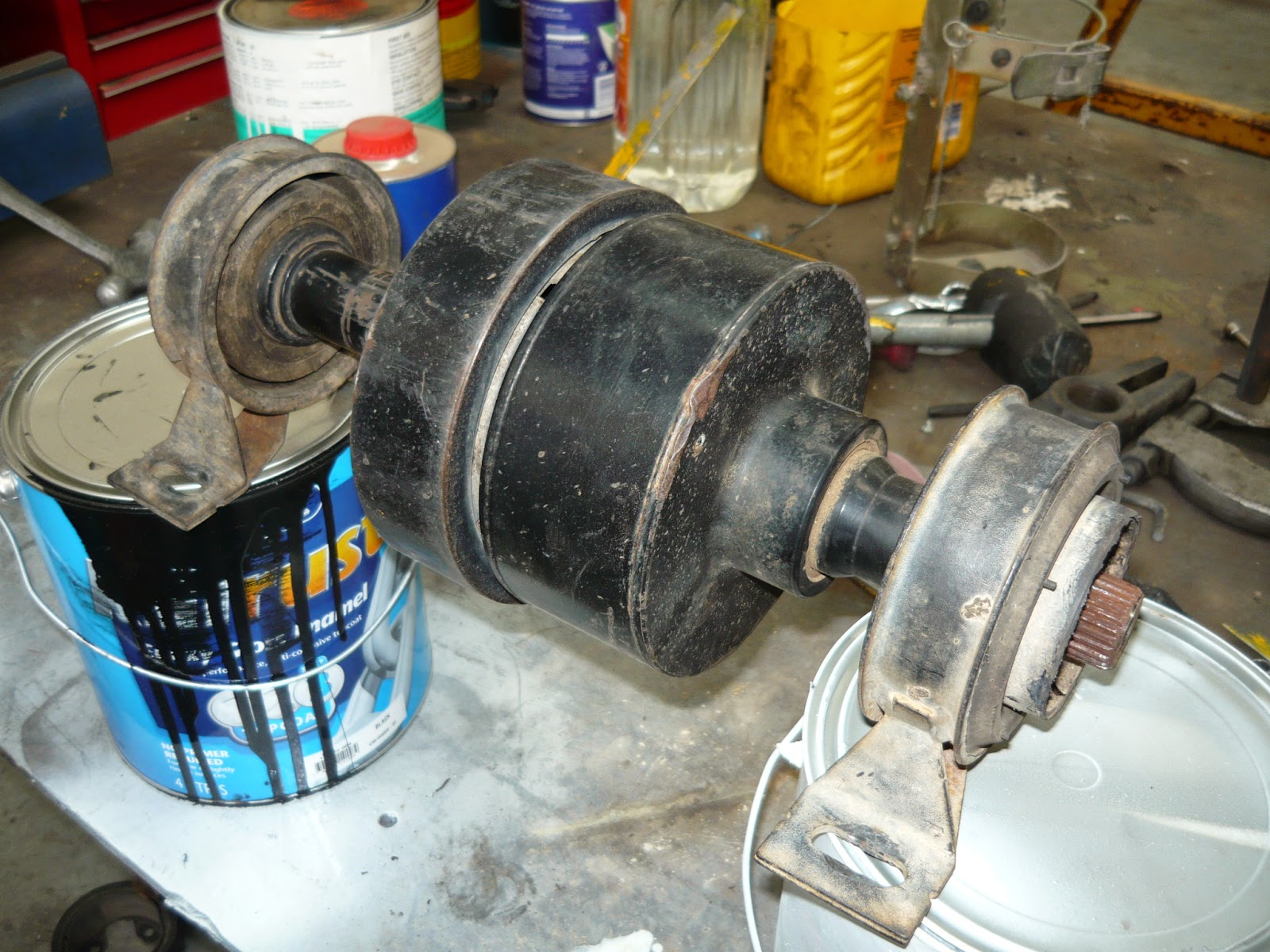 Christie Pacific Case History Land Rover Freelander Viscous Coupling The Vcu Unit Stripped Out Of Tail Shaft