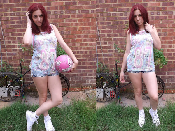What Cat Wore: Pastel Sports Luxe