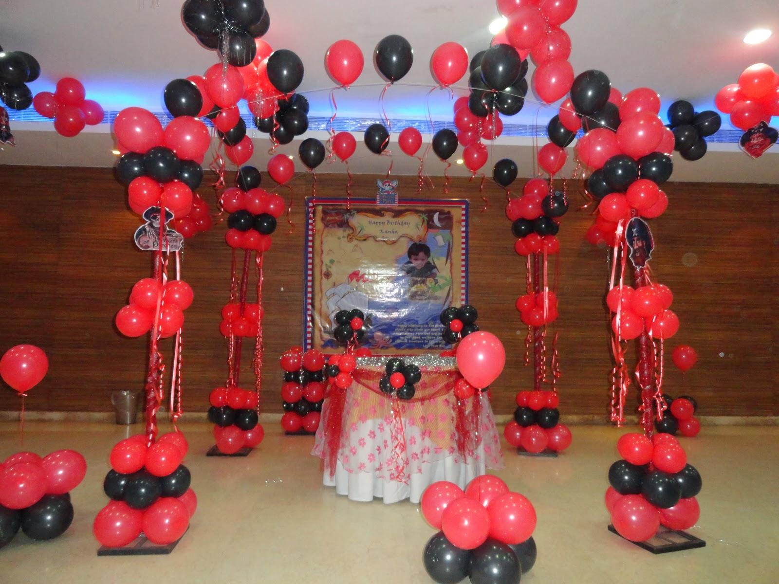 Birthday party decoration birthday party theme decoration for Balloon decoration in birthday parties