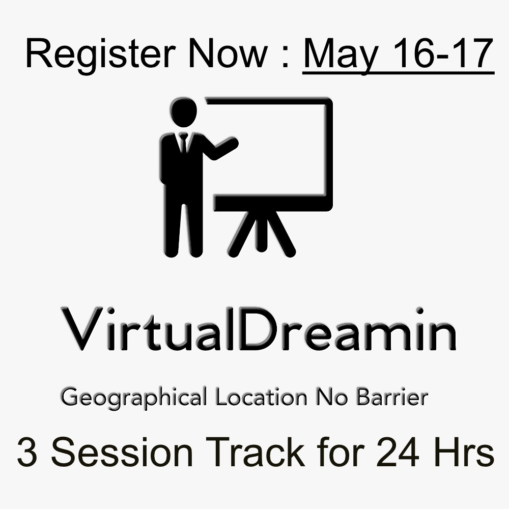 REGISTER – VIRTUAL DREAMIN 2020