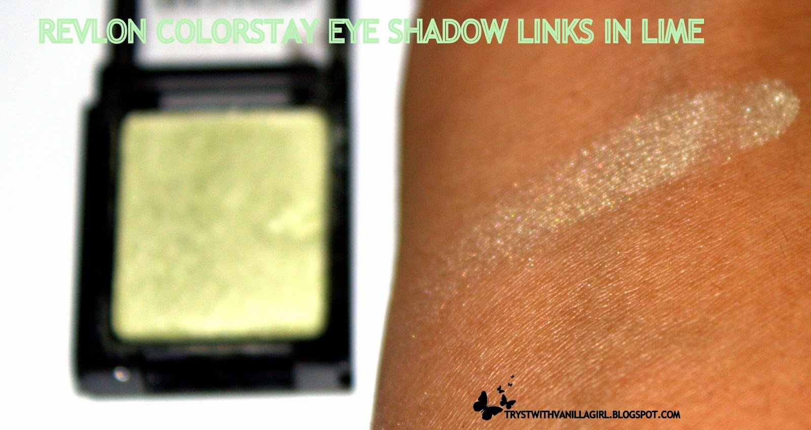 Revlon's Colorstay Shadowlinks,LIME,SWATCHES,REVIEW,INDIAN BLOG,BEAUTY,MAKEUP