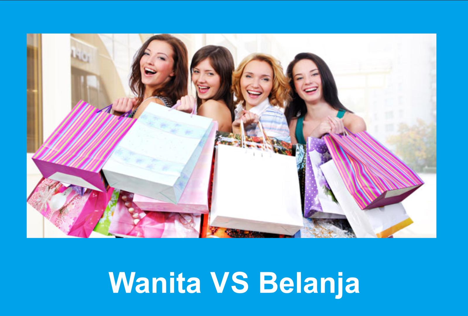 Antara Perempuan dan Shoping