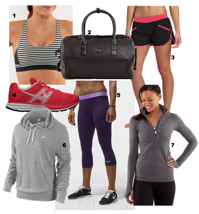 vive la mode celebrities at the gym what they wear