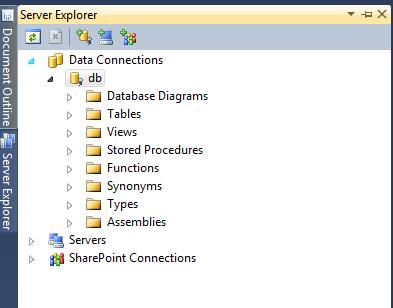 Visual Studio Object Relational Designer