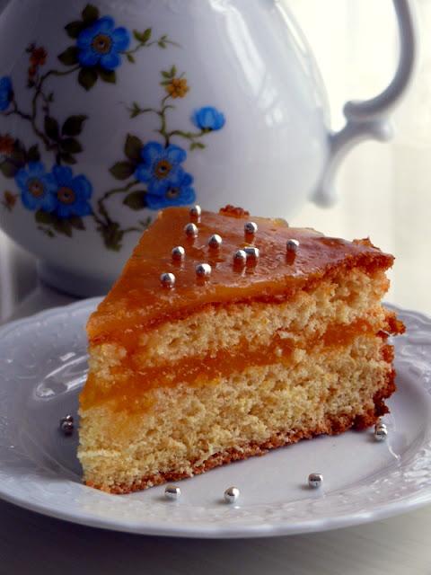 mandalina soslu kek