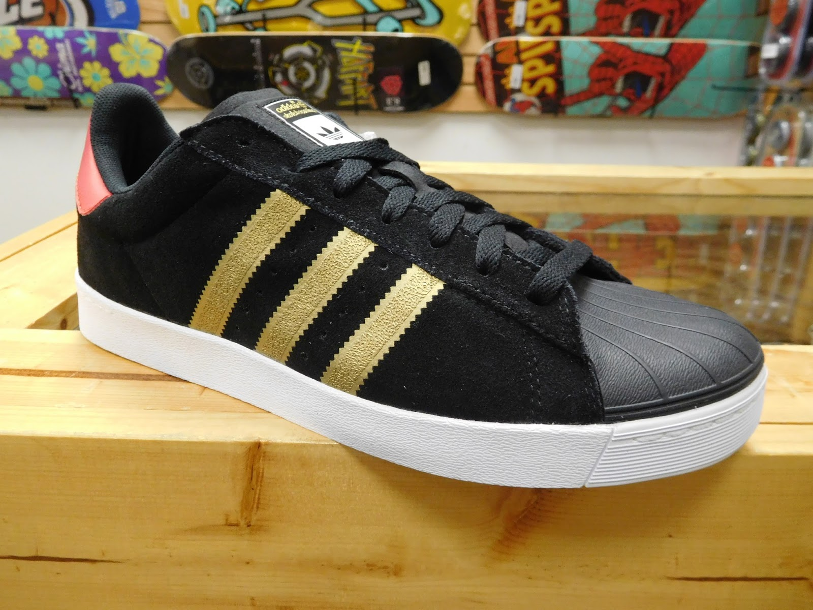 Cheap Adidas skateboarding Superstar Vulc ADV Schuhe Jungs solidgrey