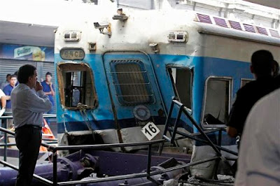 Worst Buenos Aires train crash in Argentina