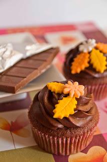 Cupcakes de cacao