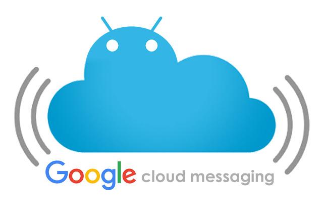 google cloud messaging logo flat design