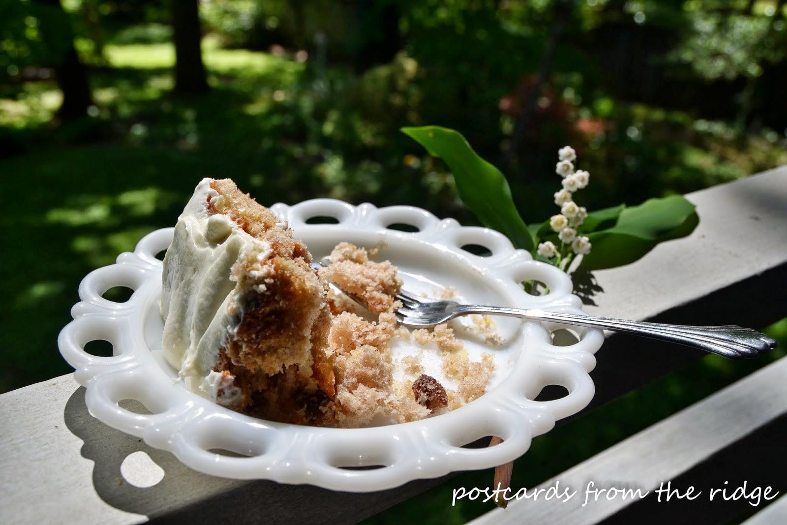 hummingbird cake recipe postcards from the ridge