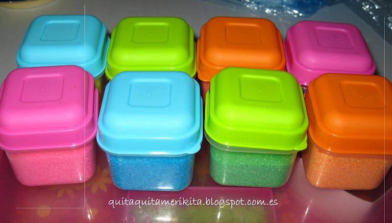 Como hacer azucar de colores quitaquitamerikita - Como hacer colores ...
