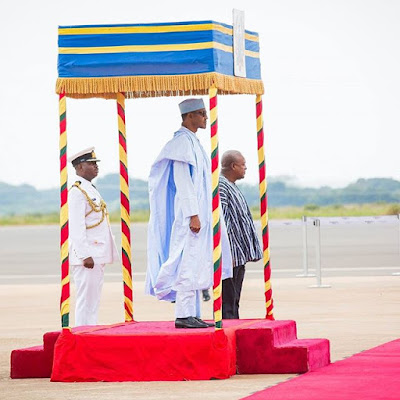 President Buhari and the Ghanaian President John Mahama3