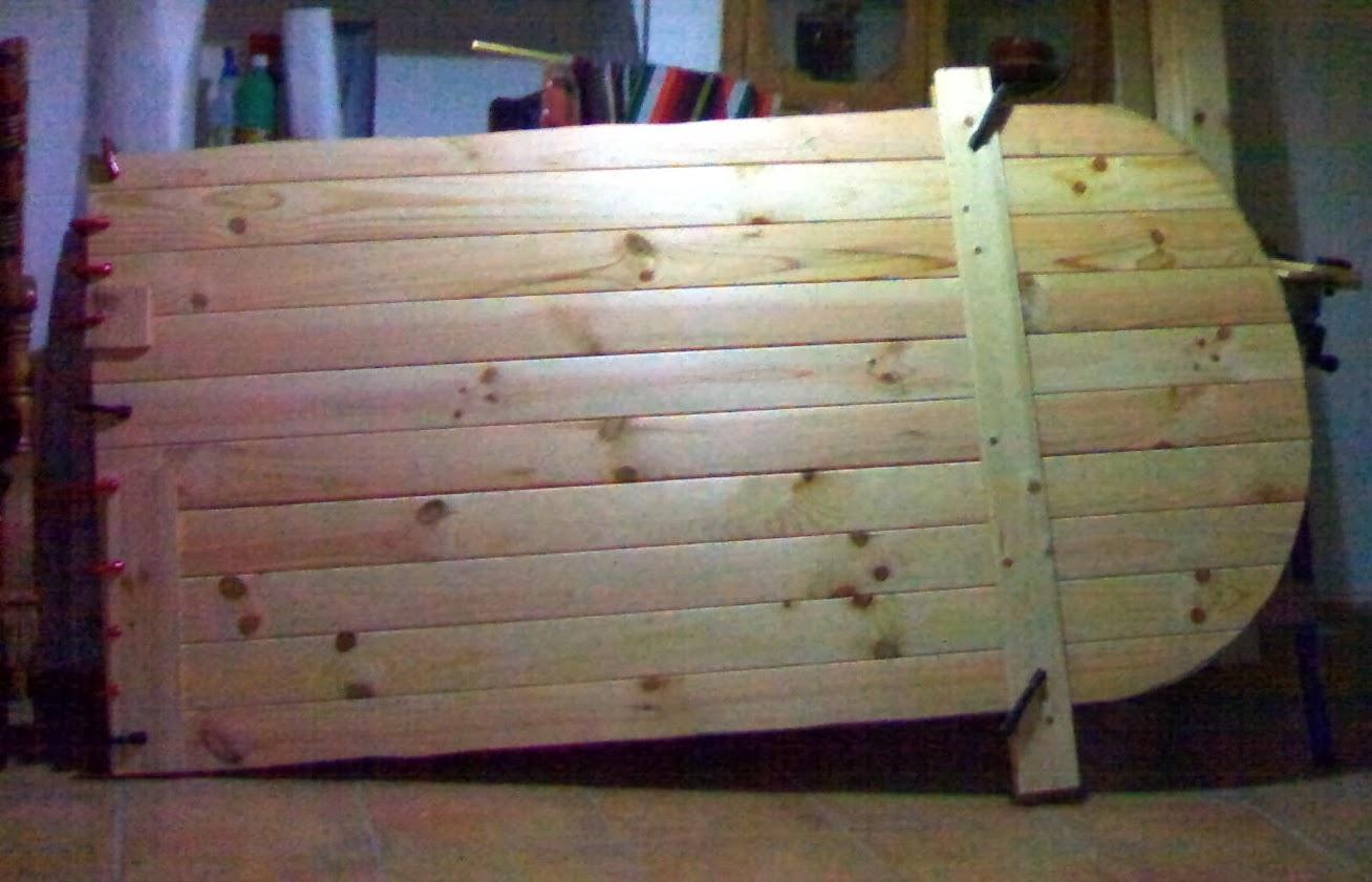 Como lo hice por javier boadella una puerta a medida for Arcos de madera para puertas