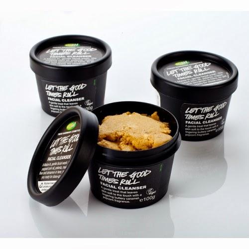 Lush, nettoyant, let the good time roll, cereal lover, exfoliant visage, produits lush, produits frais fait main