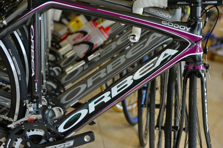 Orbea bicycles in Montefusco Cycling