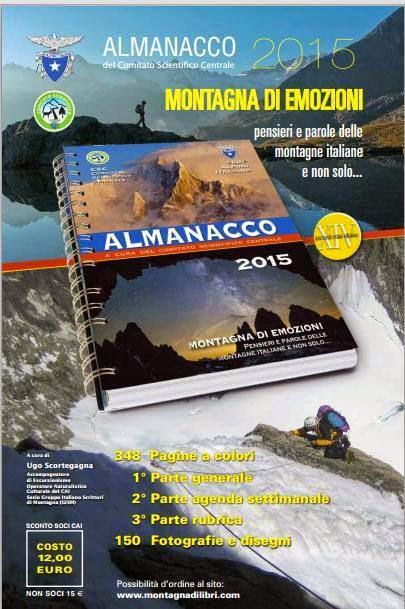 ALMANACCO CLUB ALPINO ITALIANO 2015