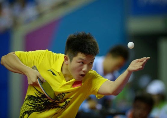 Mhtabletennis How To Generate Heavy Spin On The Pendulum