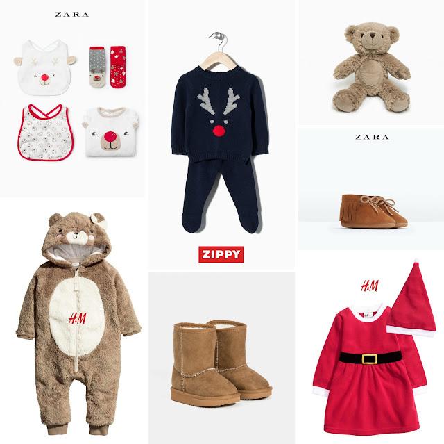 Moda Bebes Navidad
