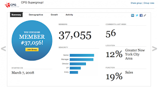 LinkedIn launches statics dashboard for Groups  linkedin internet