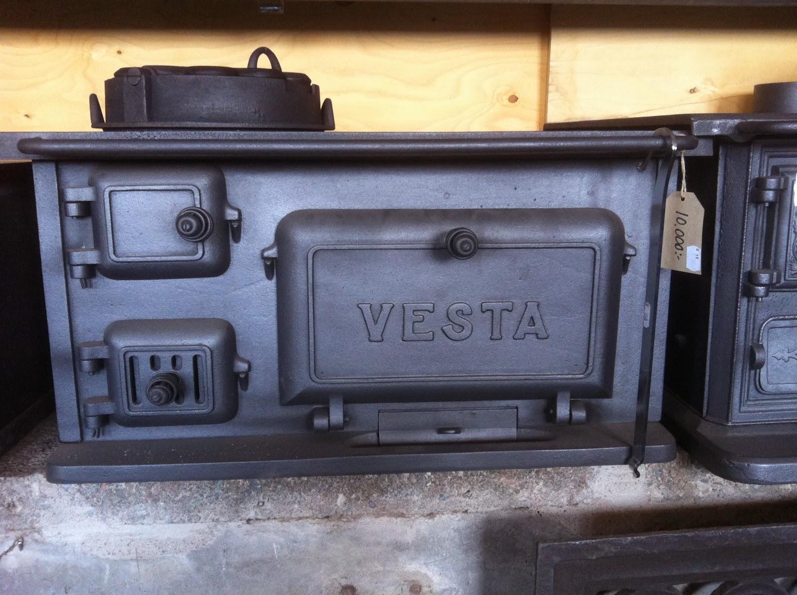 Och en iordninggjord och svärtad Vesta, sparade många tusenlappar ...