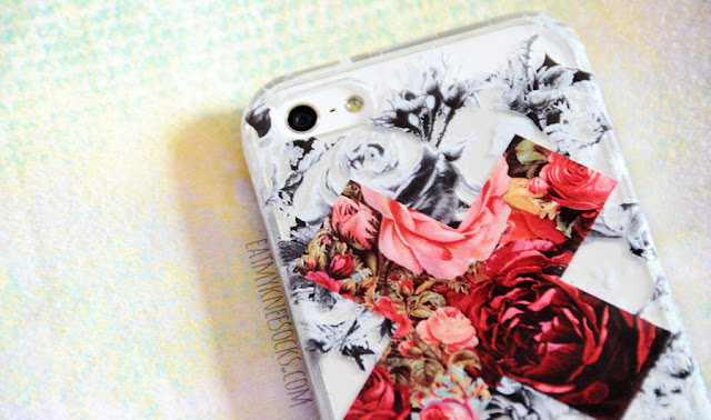 I love the vibrant, bold, eye-catching print on the contrast floral X phone case from Clash Cases on Etsy, which makes it stand out.
