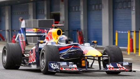Formula 1 2010 Sebastian Vettel/ RBR