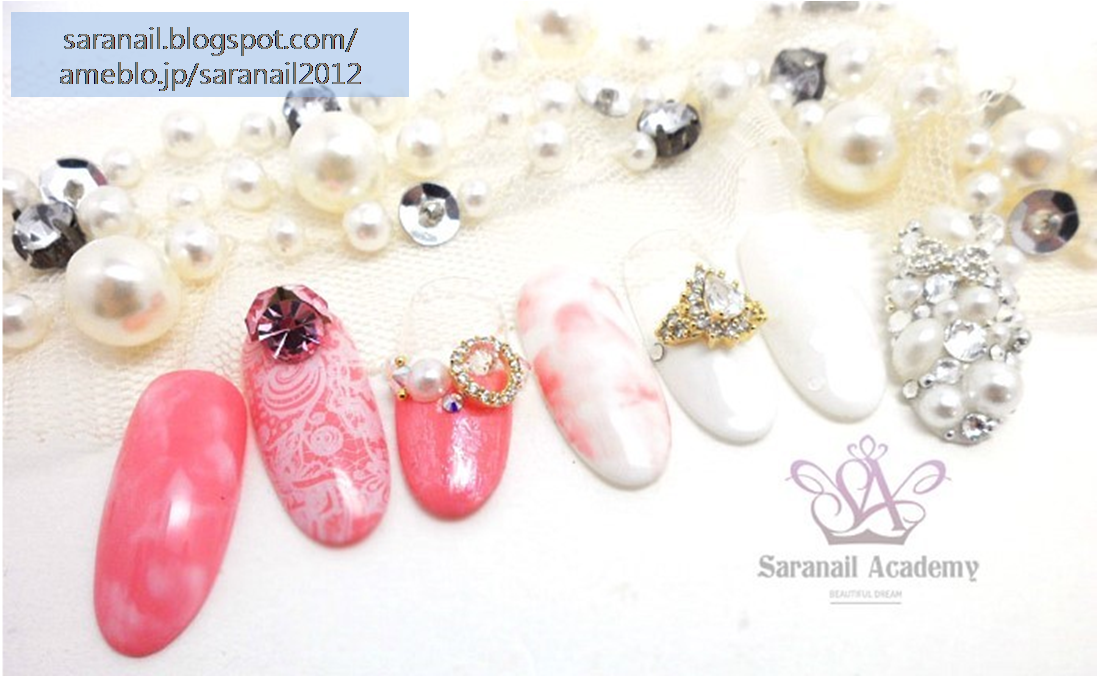 Nail Art For Wedding/ Jewelry Nail Art Elements For Wedding/ Easy to Follow Nail Art