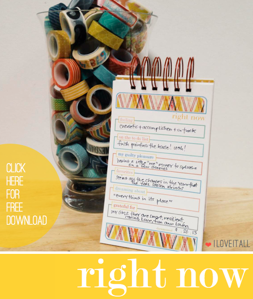 Right Now Mini Album Download | # scrapbooking #currently #minialbum # download #printable | iloveitallwithmonikawright.com