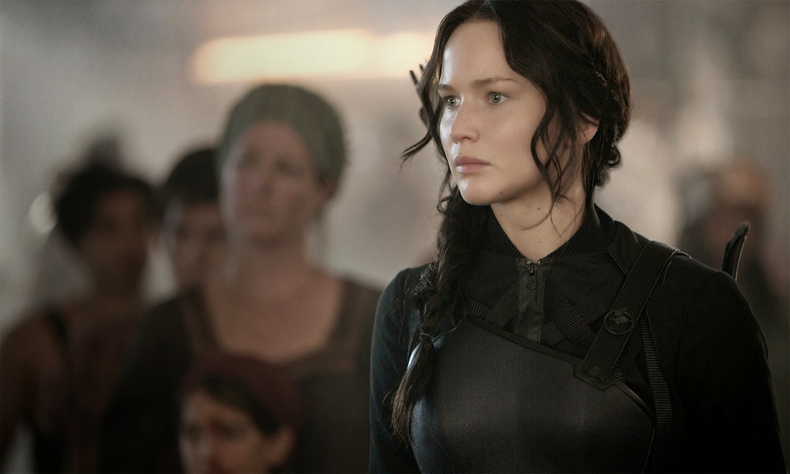 The Hunger Games Mockingjay Part 1 Katniss HD desktop