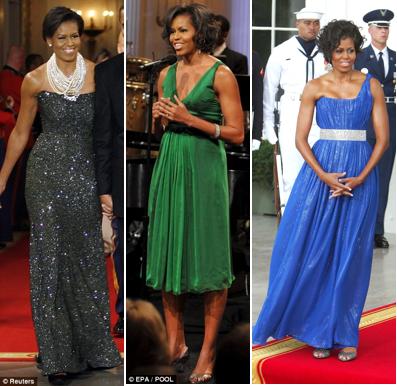 Wedding Bride: Michelle Obama Fashion Icon