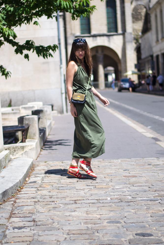 Paris streetstye, summer dress, look, womenswear blogger, meet me in paree