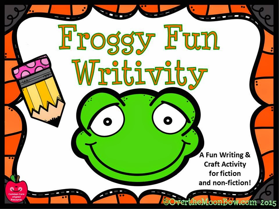 https://www.teacherspayteachers.com/Product/Froggy-Fun-Writivity-Pack-Themed-Writing-Activity-1804894
