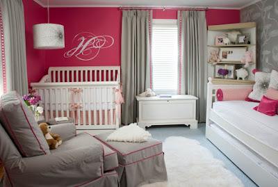 Beautiful Baby Girl Room Idea