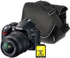 Nikon D3100, Nikon DSLR camera,