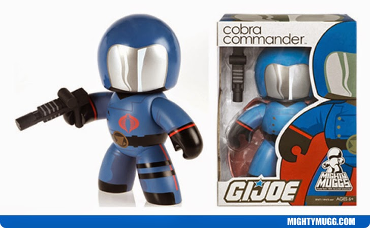Cobra Commander G.I.JOE Mighty Muggs Wave 1