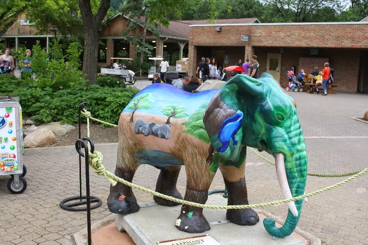 Birthday Party Cleveland Zoo Image Inspiration of Cake and