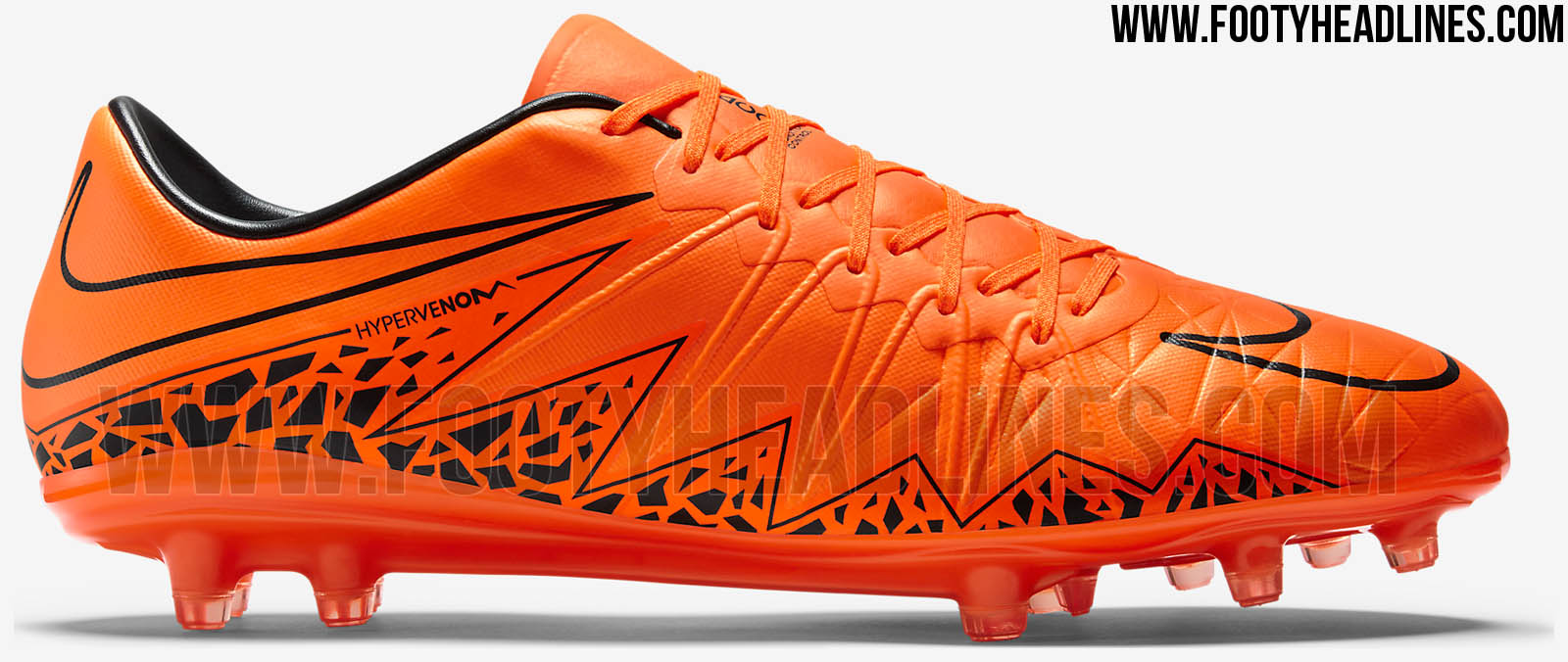 orange nike hypervenom phinish 2015 boots released footy. Black Bedroom Furniture Sets. Home Design Ideas