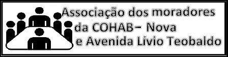 COHAB Nova e a Avenida Lívio Teobaldo terão associação de moradores