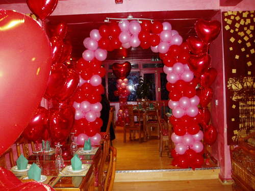 Valentine Home Decorations - Decorating Interior