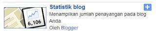 Cara MODIFIKASI Widget STATISTIK Blogger KEREN