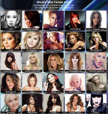 Nominasi World Music 2013
