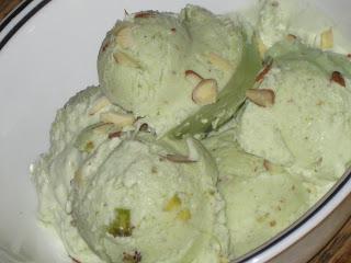 Pista Kulfi Icecream-My 150th post