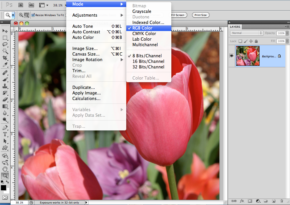 how to make image smaller photoshop cs5