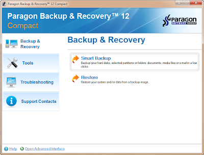 Paragon Backup and Recovery 12 Compact Edition