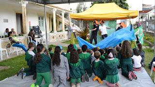 Encenado na Casa da Memória Arthur Dalmasso, o espetáculo divertiu as crianças
