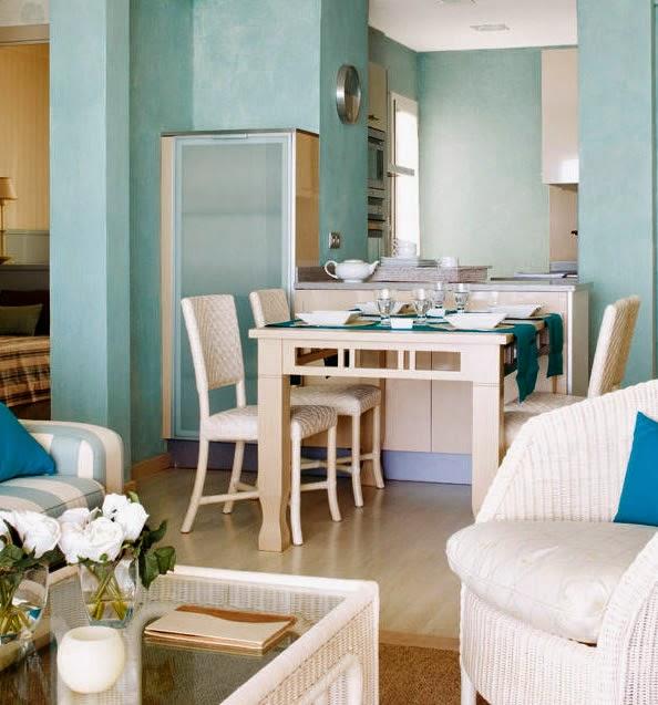 Grčka...plava i bijela mediteranski stil uređenja